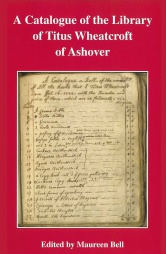 A Catalogue of the Library of