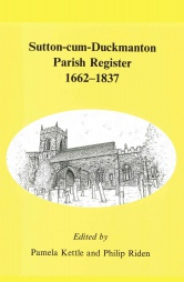 Sutton-cum-Duckmanton Parish Register